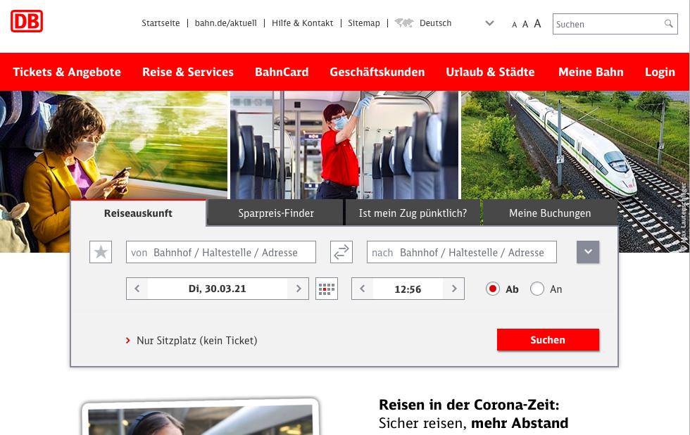 Zheleznodorozhnaya set' v Germanii Deutsche Bahn